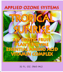 One 32 ounce bottle of Tropical Sunrise Dietary Supplement